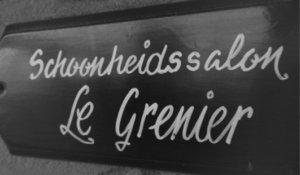 Naambord Schoonheidssalon Le Grenier